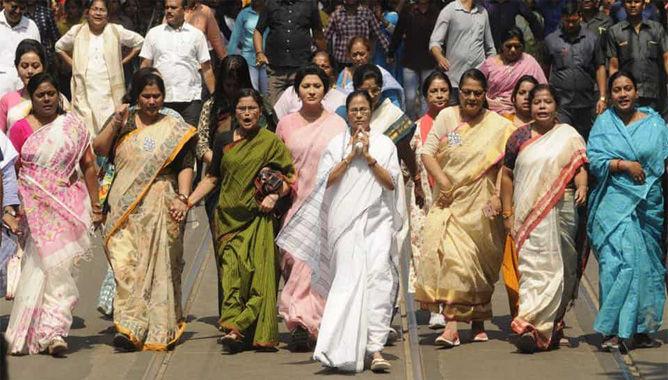 ചരിത്രംകുറിച്ച് തൃണമൂല് കോണ്ഗ്രസ്:  41 ശതമാനം സീറ്റുകള് വനിതകള്ക്ക്