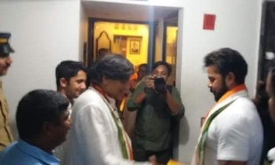ഇനി ബിജെപി ബന്ധവുമുണ്ടാവില്ല; ശശി തരൂരിനോട് ശ്രീശാന്ത്