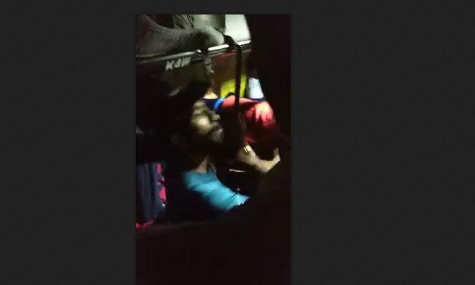 കല്ലട ഗ്രൂപ്പിന്റെ ബസ്സില് യാത്രക്കാര്ക്കു ജീവനക്കാരുടെ ക്രൂരമര്ദ്ദനം