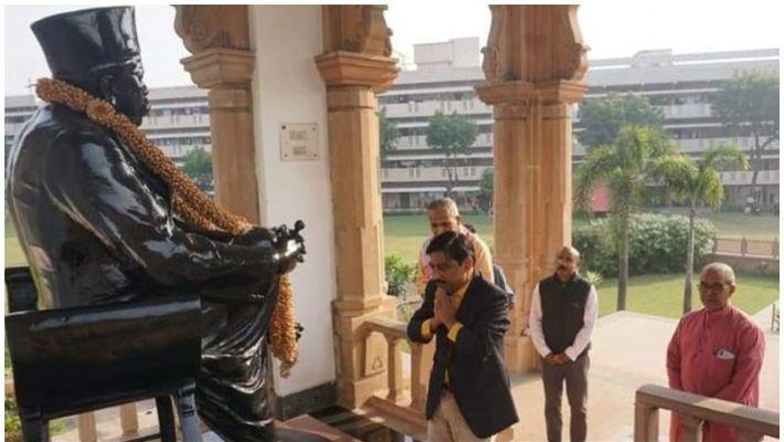 കെ കെ മുഹമ്മദ് നാഗ്പൂരിലെ ആര്എസ്എസ് ആസ്ഥാനത്ത്