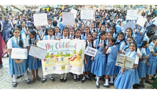 കൊച്ചി ഗ്രീന് കാര്ണിവല് 2019: ഫോര്ട്ട് കൊച്ചിയില്  ശുചീകരണ യജ്ഞത്തില് പങ്കെടുത്തത് 3000 കുട്ടികള്