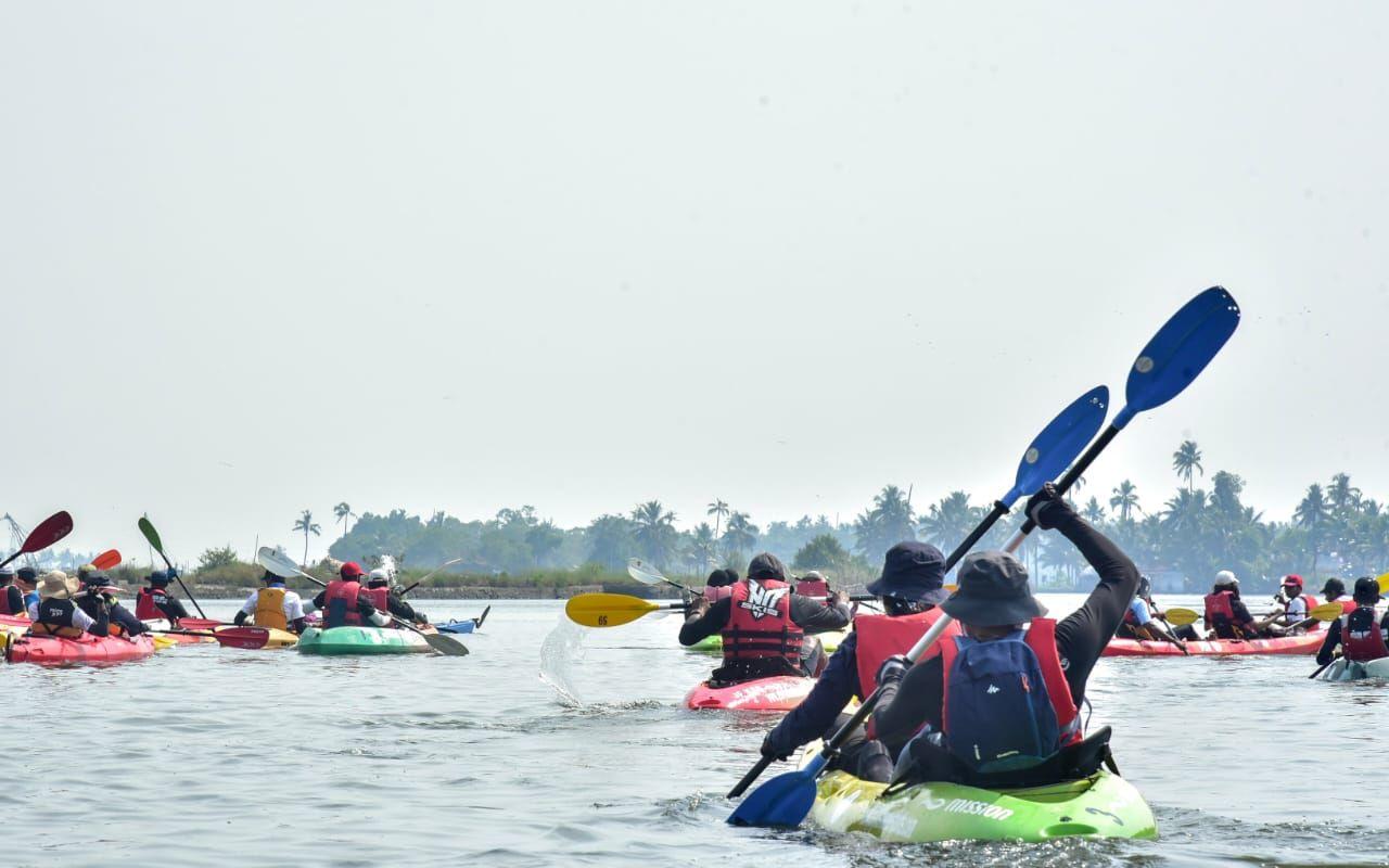 മുസിരിസ് ബാക് വാട്ടര് പാഡില്-2020  ജനുവരി 4, 5 തീയതികളില്