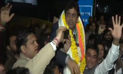 ഡല്ഹി തിരഞ്ഞെടുപ്പ്: അരവിന്ദ് കെജ്രിവാളിനെതിരേ ബിജെപിയുടെ സുനില് യാദവ്