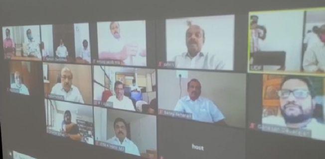 സ്പ്രിങ്ഗ്ലർ ഇടപാട്: യുഡിഎഫ് യോഗം ആരംഭിച്ചു; പ്രതിഷേധ പരിപാടികൾക്ക് രൂപം നൽകും