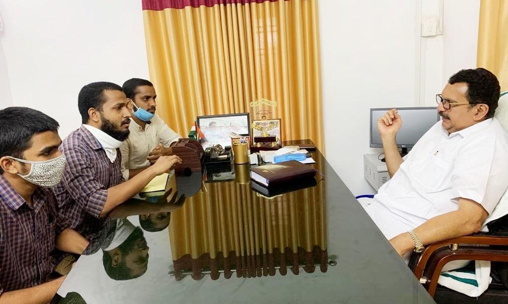 കാലിക്കറ്റ് സര്വകലാശാല വി സി നിയമനം: ഫ്രറ്റേണിറ്റി നിവേദനം നല്കി