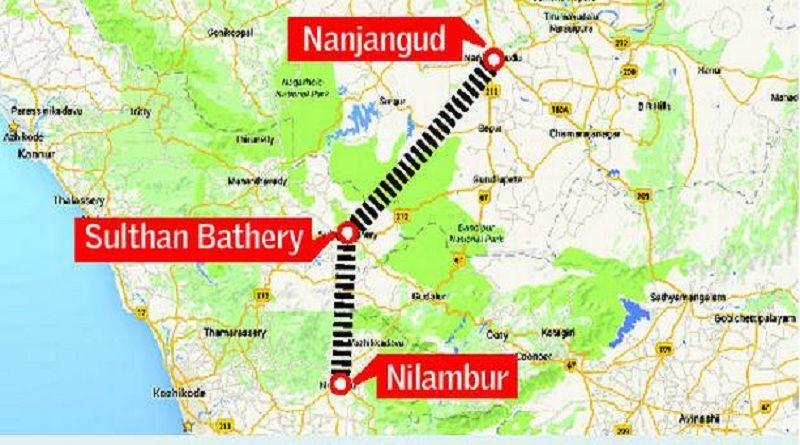 നിലമ്പൂര് നഞ്ചന്കോഡ് റെയില്പ്പാത; വിശദ പദ്ധതി റിപോര്ട്ട് തയ്യാറാക്കാന് നിര്ദ്ദേശം