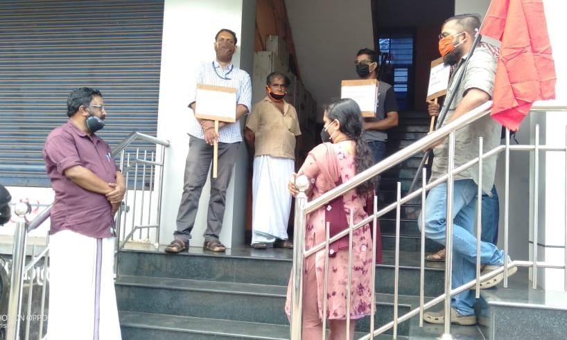 സിദ്ദീഖ് കാപ്പന്റെ മോചനം:   തൃശൂരില്  പത്രപ്രവര്ത്തക യൂണിയന് പ്രതിഷേധ സദസ്സ് നടത്തി