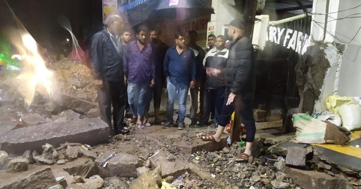 മഴ: ഹൈദരാബാദില് മതില് ഇടിഞ്ഞുവീണ് 9 പേര് മരിച്ചു