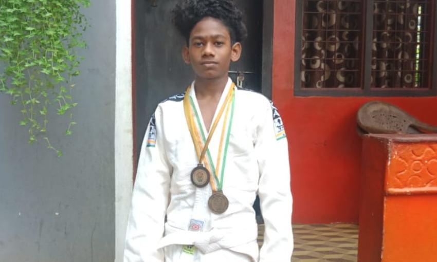 ജൂഡോ ദേശീയ ചാംപ്യന്ഷിപ്പ്: സ്വര്ണമെഡല് നേടി മലപ്പുറത്തുനിന്നുള്ള വിദ്യാര്ത്ഥി