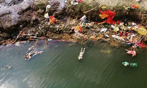 മൃതദേഹങ്ങള് ഒഴുകിനടന്ന സംഭവം: ബീഹാര് സര്ക്കാര് ഗംഗയിലെ ജലം പരിശോധനക്കയച്ചു