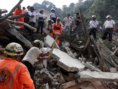 guatimala landslide