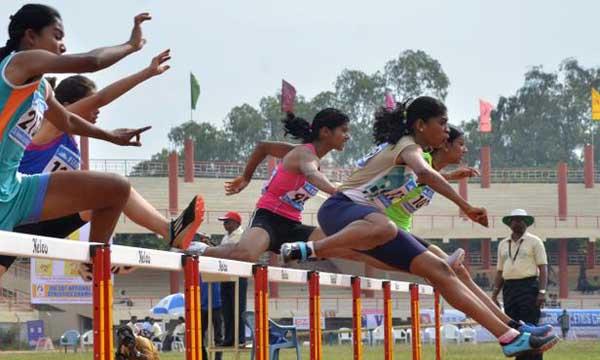 സംസ്ഥാന ജൂനിയര് അത്ലറ്റിക് ചാംപ്യന്ഷിപ്പില് തൃശൂര് മുന്നില്